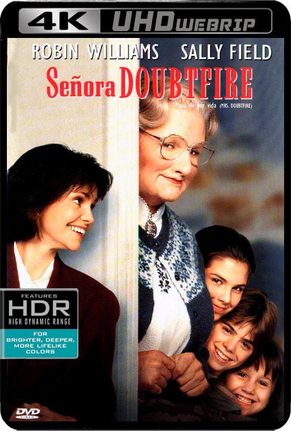 MRS.DOUBTFIRE [4K WEBRIP][2160P][HDR10][DTS-HD 5.1 CASTELLANO-AC3 5.1-INGLES+SUBS] torrent